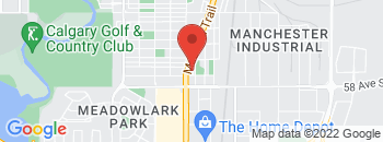Google Map of 5728+Macleod+Trail+S.%2CCalgary%2CAlberta+T2H+0J6